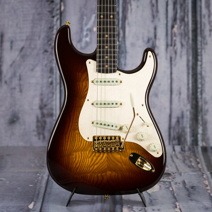 Fender Artisan Tamo Ash Strat, Sunburst *Demo Model*