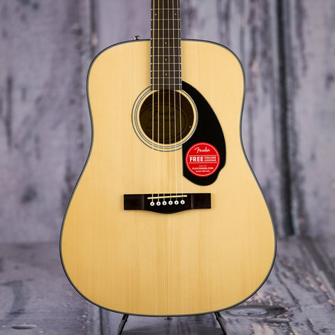 Fender CD60S dreadnought acoustic guitar pack natural