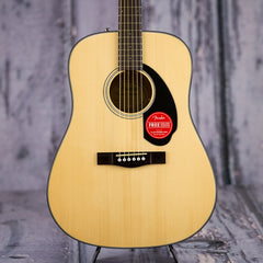 Fender CD-60S dreadnought acoustic guitar pack - natural