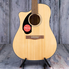 Fender CD-60SCE Dreadnought Left-Handed Acoustic/Electric, Natural