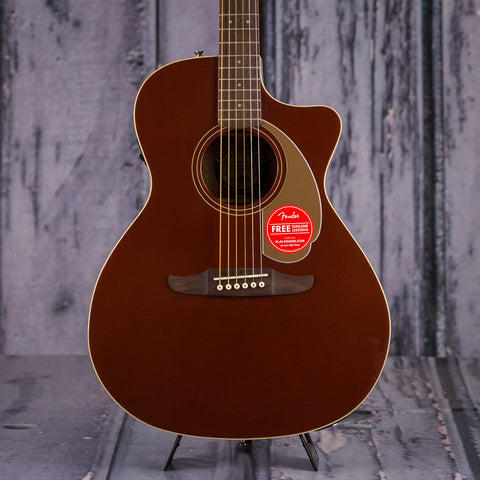 Fender California Series Newporter Player, Rustic Copper, front closeup