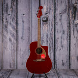 Fender California Series Redondo Player, Candy Apple Red, front