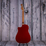 Fender California Series Redondo Player, Candy Apple Red, back