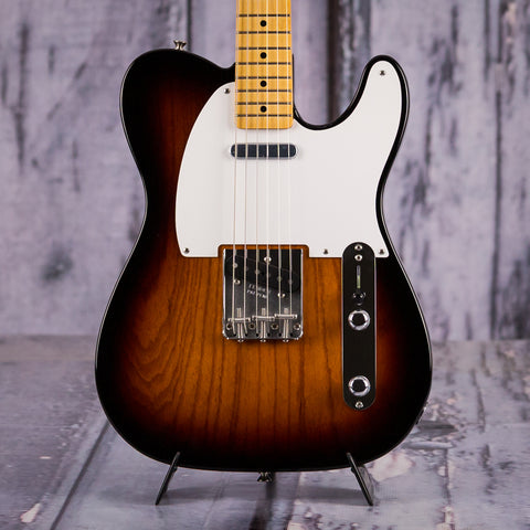 Fender Classic Series '50s Telecaster, 2-Color Sunburst, front closeup