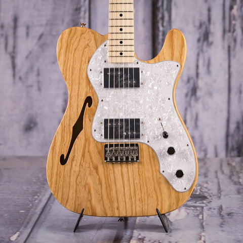 Fender Classic Series '72 Telecaster Thinline, Natural, front closeup