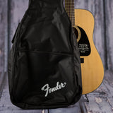 Fender DG8S dreadnought acoustic guitar pack natural v10