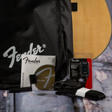 Fender DG8S dreadnought acoustic guitar pack natural v8