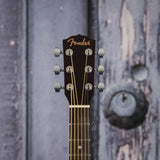 Fender FA-115 Dreadnought Pack, Natural, front headstock closeup