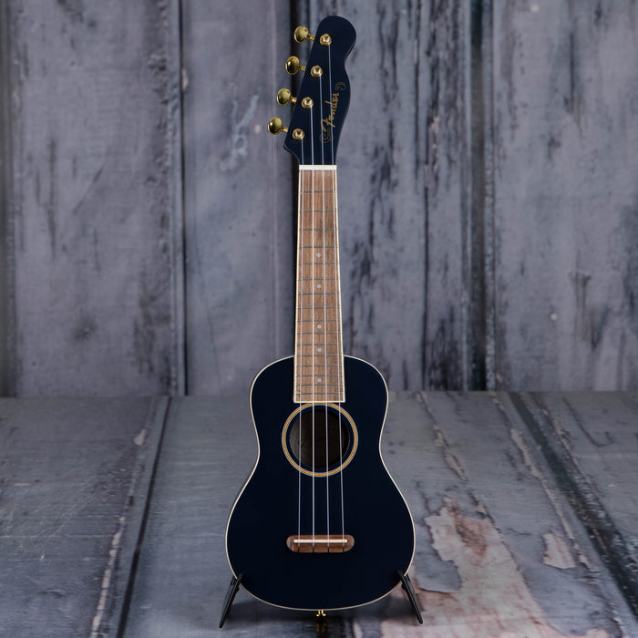 Fender Grace VanderWaal Moonlight Soprano Uke, Navy