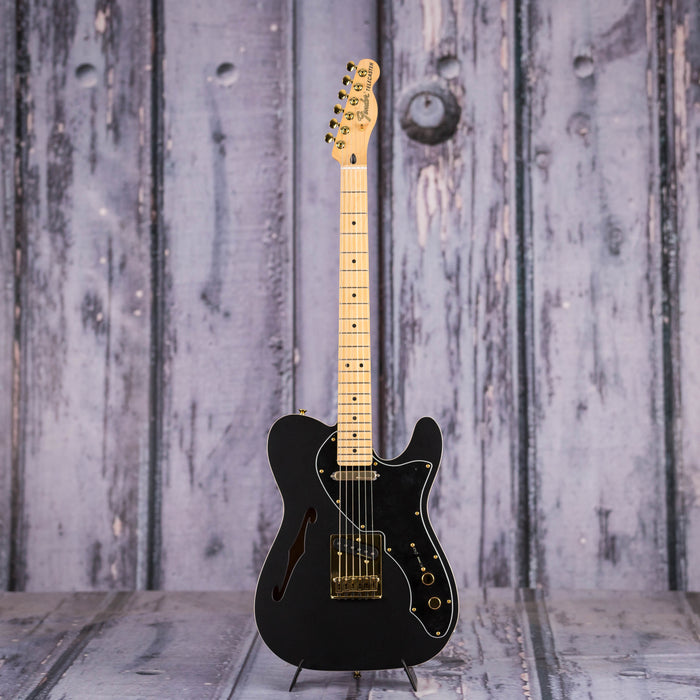 Fender LTD Deluxe Telecaster Thinline Semi-Hollowbody, Satin Black