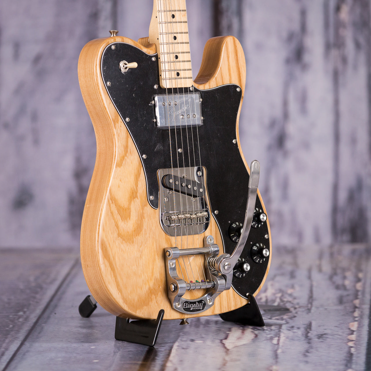 fender limited edition 39 72 telecaster custom with bigsby 2018 natural for sale replay guitar. Black Bedroom Furniture Sets. Home Design Ideas