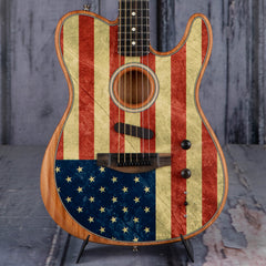 Fender Limited Edition American Acoustasonic Telecaster Acoustic/Electric, Flag