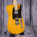 Fender Limited Edition Professional Telecaster with Shawbucker, Butterscotch Blonde, angle