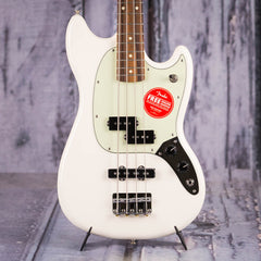 Fender Mustang PJ Bass, Olympic White