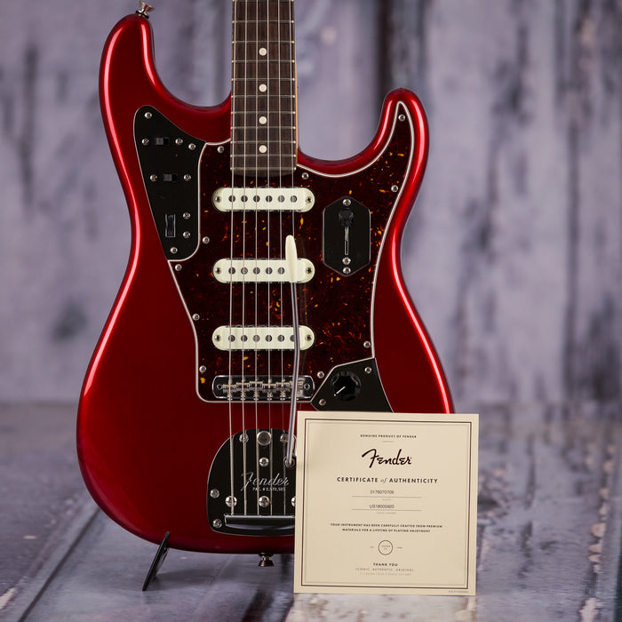 Fender Parallel Universe Jaguar Strat, Candy Apple Red