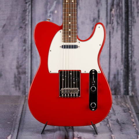 Fender Player Series Telecaster, Pau Ferro Fingerboard, Sonic Red, front closeup