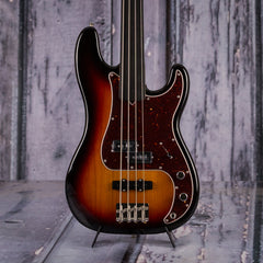 Fender Tony Franklin Fretless P-Bass, Signed, 3-Color Sunburst