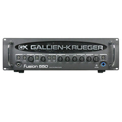 Used Gallien-Krueger Fusion 550 Bass Head
