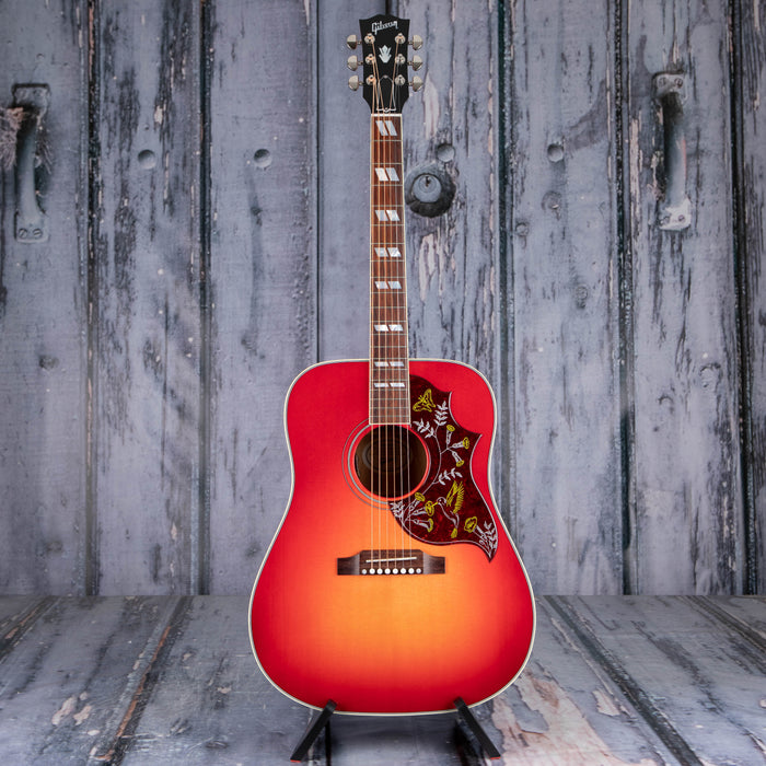 Gibson Montana Hummingbird Standard Acoustic/Electric, Vintage Cherry Sunburst
