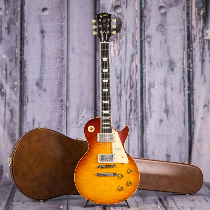 Gibson USA Custom 60th Anniverary 1959 Les Paul Standard VOS, Orange Sunset Fade