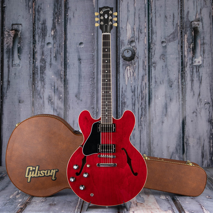 Gibson USA ES-335 Left-Handed Semi-Hollowbody, Sixties Cherry