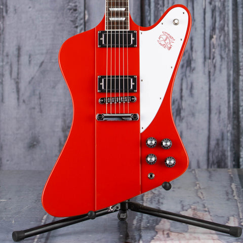 Gibson USA Firebird Electric Guitar, Cardinal Red, front closeup