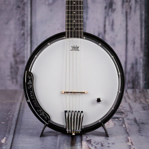 Gold Tone AC-6+ Composite 6-String Banjo Guitar, front closeup