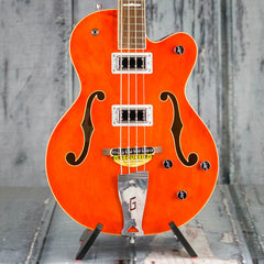 Gretsch G5440LSB Electromatic Long-Scale Hollowbody Bass, Orange