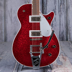 Gretsch G6129T Players Edition Jet FT With Bigsby, Red Sparkle