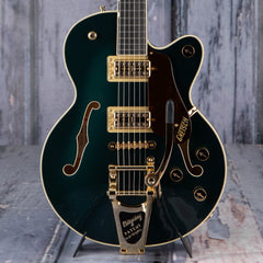 Gretsch G6659TG Players Edition Broadkaster Jr. Center Block Single-Cut w/ Bigsby Semi-Hollowbody, Cadillac Green