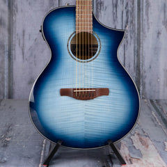 Ibanez AEWC400 Acoustic/Electric, Indigo Blue Burst High Gloss