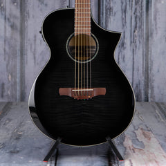 Ibanez AEWC400 Acoustic/Electric, Transparent Black Sunburst High Gloss