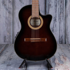 Ibanez GA35TCE Thinline Classical Acoustic/Electric, Dark Violin Sunburst