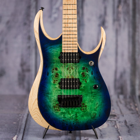 Ibanez RGDIX Iron Label Surreal Blue Burst