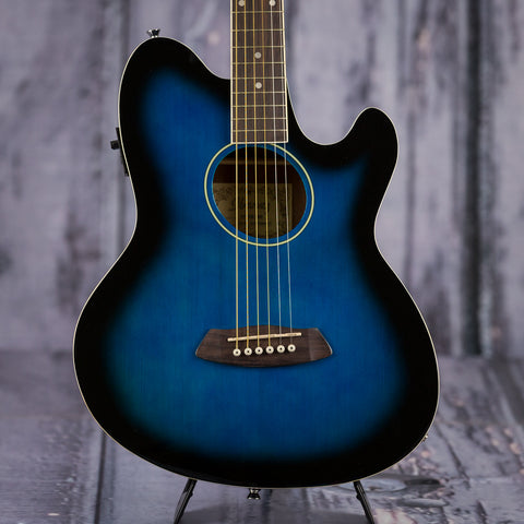 Ibanez Talman TCY10E acoustic electric Trans Blue