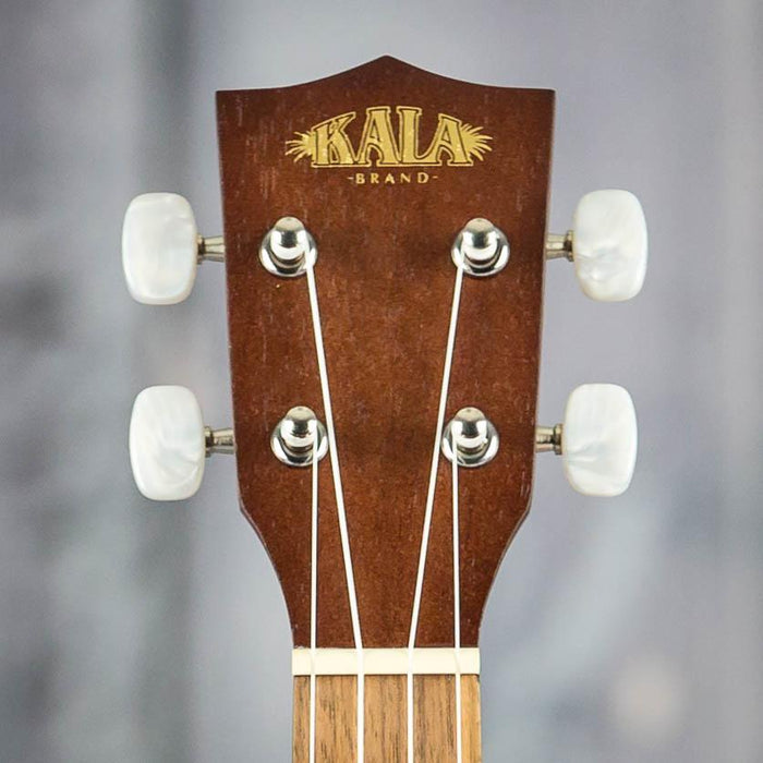 Kala KA-15SLNG Satin Mahogany Long Neck Soprano Uke, Natural