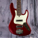 Lakland Skyline J Sonic 5 bass Candy Apple Red