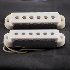 Lollar Jaguar Single Coil Neck & Bridge, White
