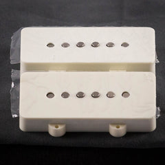 Lollar Jazmaster Neck & Bridge, White Ivory