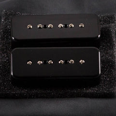Used Lollar P-90 SoapBar Neck & Bridge, Black