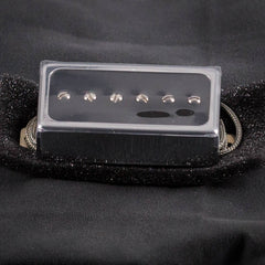 Lollar Single-Coil For Humbucker Neck, Black Gloss Chrome