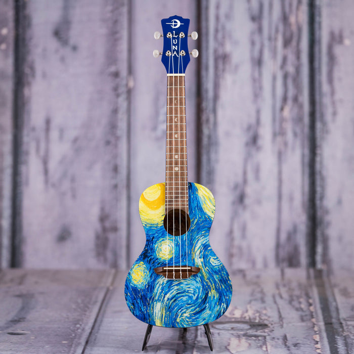 Luna Starry Night Concert Uke, Starry Night