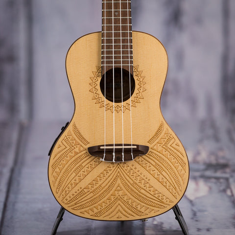 Luna Tapa Concert ukulele spruce top with preamp