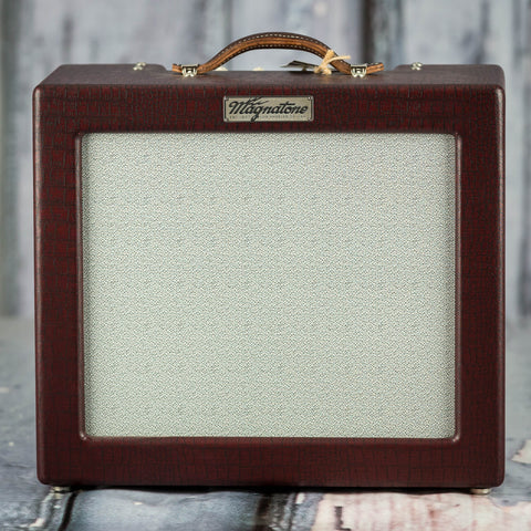Magnatone Lyric 12 Combo Amplifier, Burgundy