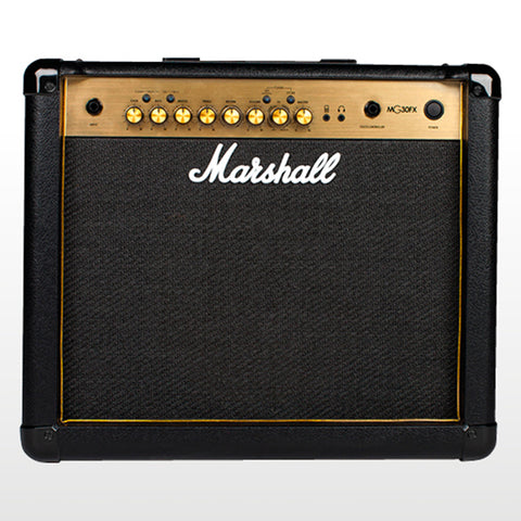 Marshall MG30GFX Combo Guitar Amplifier With Effects, 30W, front