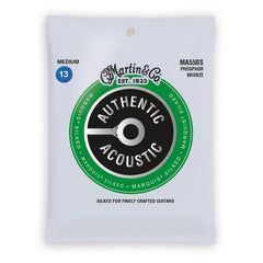 Martin Authentic Acoustic Marquis Silked Strings, MA550S, Medium