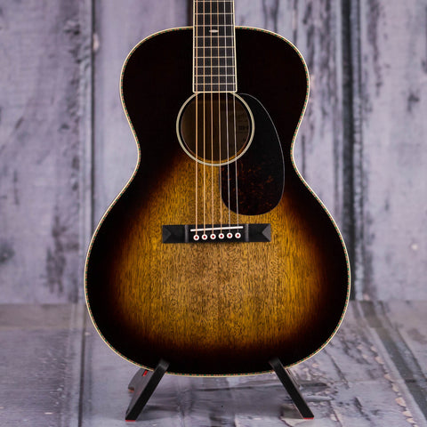 Martin CEO-9 Acoustic Guitar, Mango Sunset Sunburst, front closeup
