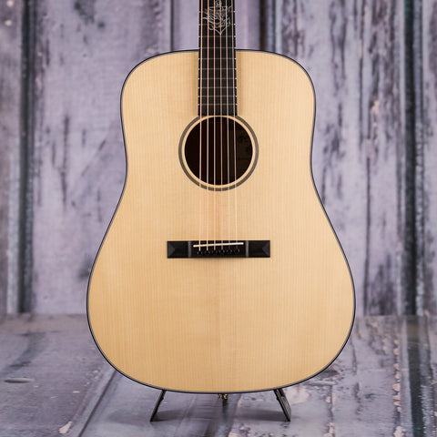 Martin D-18 Jason Isbell Acoustic Electric Guitar, Natural, front closeup