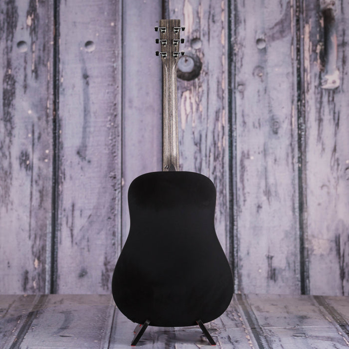 Martin Dxae Dreadnought Acoustic Electric Black For
