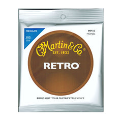 Martin MM13 Retro Acoustic Guitar Strings - Medium